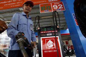 Giá xăng giảm trên dưới 1.000 đồng mỗi lít từ 15 giờ chiều nay
