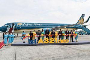 Tàu bay A321neo mới của Vietnam Airlines đón năm bận rộn hàng không
