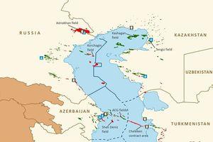 Azerbaijan và Nga phát triển các mỏ khí ở phía Bắc biển Caspian