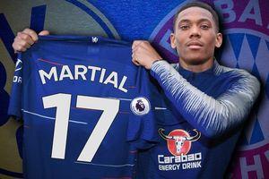 Chelsea đàm phán Martial, Man City chi đậm lấy De Jong