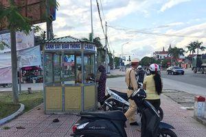 Hà Tĩnh: Người dân hoan nghênh việc lập nhiều bốt gác giao thông