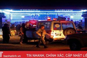 Đánh bom liều chết ở thủ đô Afghanistan, hơn 50 người thiệt mạng
