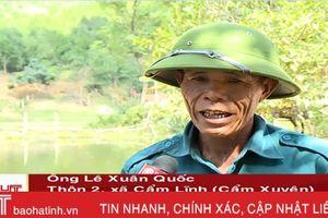 Hậu tích nước hồ Khe Lau - Nhiều hộ dân thiệt hại lớn