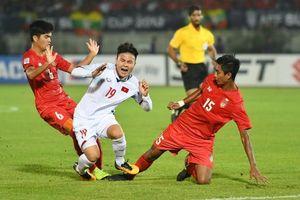 Tiền vệ Myanmar nói xứng đáng có điểm trước Việt Nam, sẽ hạ Malaysia ở trận cuối