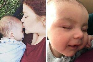 Theo dõi con ngủ qua video, mẹ phát hiện 'chấm đen lớn' đang di chuyển trên người bé