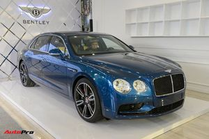 Ngắm siêu xe Bentley Flying Spur V8 S vừa ra mắt tại Việt Nam, giá gần 17 tỷ đồng
