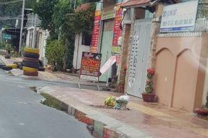 Chùm ảnh: Sau bão, cống hộp phường 8-TP Vũng Tàu vẫn đọng nước