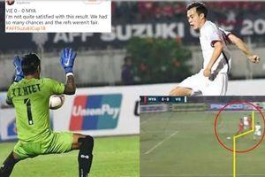Trọng tài 'cướp' bàn thắng của ĐT Việt Nam bị fan hâm mộ nghi tiêu cực