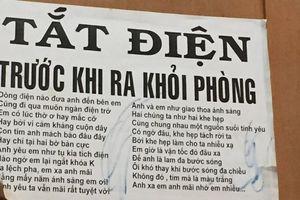 'Thầy giáo sinh ra ở biển': Mỗi việc nhắc học sinh tắt điện cũng chế thành bài thơ mặn chát khiến dân mạng cười ra nước mắt