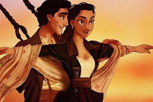 Khi các nhân vật nổi tiếng trong phim hoạt hình Disney đi đóng 'Titanic'