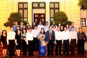'Đồng chí Lê Kim Dung hoàn thành xuất sắc nhiệm vụ công tác...'
