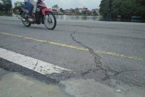 Thừa Thiên - Huế: Công trình tiền tỷ xuất hiện hàng loạt vết nứt