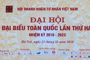 Toàn cảnh Đại hội đại biểu toàn quốc lần II Hội Doanh nhân Tư nhân Việt Nam
