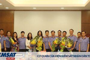Lãnh đạo VKSND tối cao gặp mặt cán bộ, công chức nghỉ hưu từ tháng 12/2018 đến tháng 5/2019
