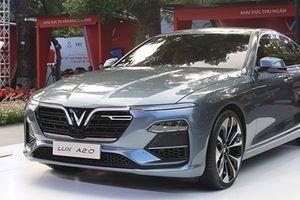 Cận cảnh VinFast Sedan LUX A2.0