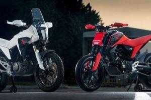 Hình ảnh hai mẫu concept bike Honda CB125X và CB125M