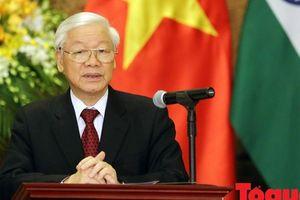 Tổng Bí thư, Chủ tịch nước Nguyễn Phú Trọng chuẩn bị tiếp xúc cử tri Hà Nội