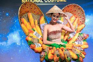 Tranh cãi quanh bộ trang phục bánh mì của H'Hen Niê