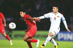 Quang Hải được GĐKT của CLB Thái League 'chấm' ở trận hòa Myanmar