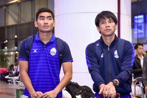 Honda vắng mặt, cầu thủ Campuchia từ chối trả lời phỏng vấn