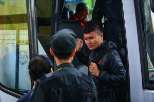 ĐT Việt Nam 'bí mật' tập kín tại sân Hàng Đẫy