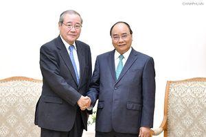 Thủ tướng tiếp tập đoàn tài chính hàng đầu Nhật Bản