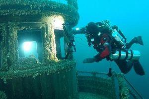 Xác tàu đắm 'bị nguyền rủa' còn nguyên vẹn dưới biển Canada