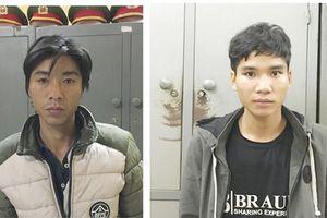 Công an huyện Văn Chấn bắt 2 đối tượng đánh người cướp tài sản
