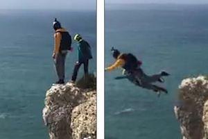 Nhảy dù từ độ cao 100 mét xuống đất và kết cục đau lòng