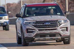 Xe Ford Explorer 2020 thiết kế như Toyota Highlander đời cũ