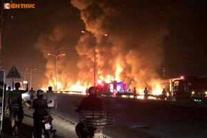 Xe bồn gây hỏa hoạn thảm khốc: 'Cảnh tượng khủng khiếp trong đời'