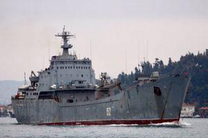 Tàu Nga chở một lượng vũ khí lớn tới Syria trước một hoạt động mới