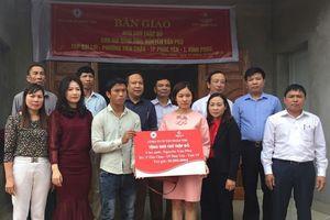Tập đoàn TMS trao tặng 2 nhà tình nghĩa và 60 xe đạp cho người nghèo tại Phúc Yên