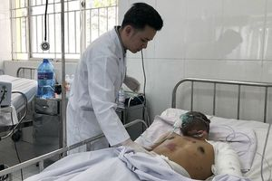 Tài xế xe bồn trong vụ cháy lớn ở Bình Phước bị bỏng nặng