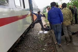 Nam thanh niên tử vong khi băng qua đường sắt