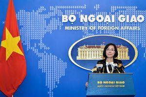 Phó Phát ngôn Bộ Ngoại giao Việt Nam nói về phát biểu muốn hoàn thành COC trong 3 năm của Thủ tướng Trung Quốc