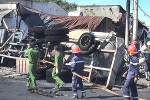 Xe bồn chở xăng gây cháy vẫn còn hạn kiểm định