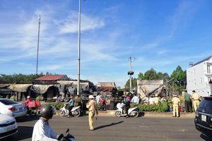 Công an Bình Phước công bố thông tin vụ xe bồn chở xăng gây cháy nhà, 6 người chết