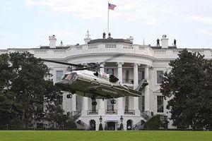 Trực thăng mới của Tổng thống Mỹ cất cánh thử tại Nhà Trắng