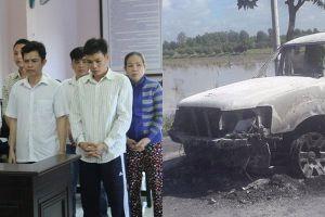 Xét xử vụ con gái thuê người đốt xe làm chết cha ruột chấn động Hậu Giang