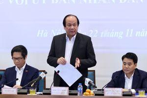 Thủ tướng khen Chủ tịch Hà Nội 'không ngại việc, không ngại va chạm'