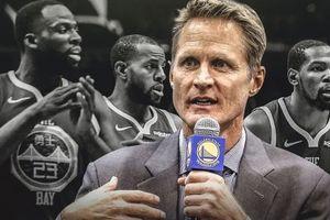 Golden State Warriors lập kỷ lục tệ hại trong kỷ nguyên Steve Kerr