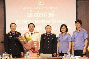 Ông Vũ Mạnh Hà được bổ nhiệm chức Phó tổng biên tập báo Bảo vệ pháp luật