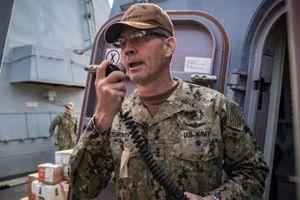 Mỹ điều tra vụ Tư lệnh hạm đội đột ngột qua đời tại Trung Đông
