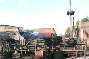 Nhân chứng kể lại phút kinh hoàng xe bồn lao vào nhà dân tại Bình Phước