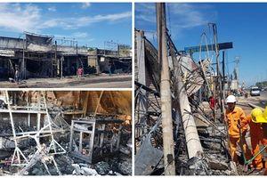 Cận cảnh 19 căn nhà bị thiêu rụi, do cháy xe bồn chở xăng ở Bình Phước