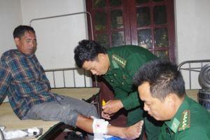Thanh Hóa: BĐBP cứu tàu có 5 thuyền viên có nguy cơ bị chìm