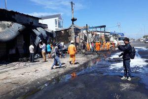 Vụ cháy xe bồn tại Bình Phước: Xác định danh tính các nạn nhân
