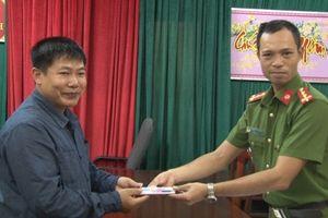 Đội CSHS Công an TP Huế được UBND tỉnh khen thưởng