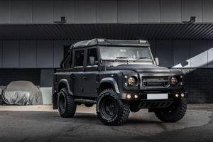 Hình ảnh siêu xe pick-up Land Rover Defender độ giá 2 tỷ đồng